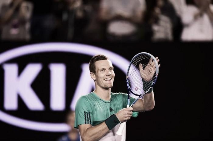 Australian Open, Berdych batte Kyrgios. Fuori Cilic