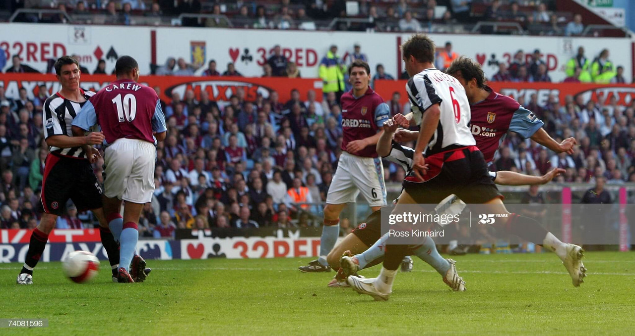 Aston Villa vs Sheffield United 2007: The match that changed it all