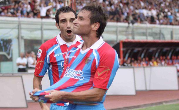 Un tris per la Samp: Bergessio, Lodi e Frison tutti dal Catania