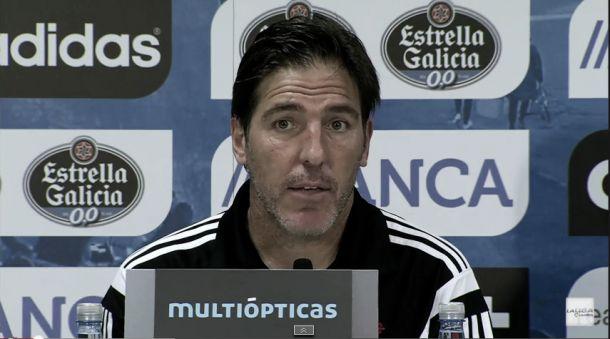 """Berizzo: """"El resultado fue demasiado castigo para el Málaga"""""""