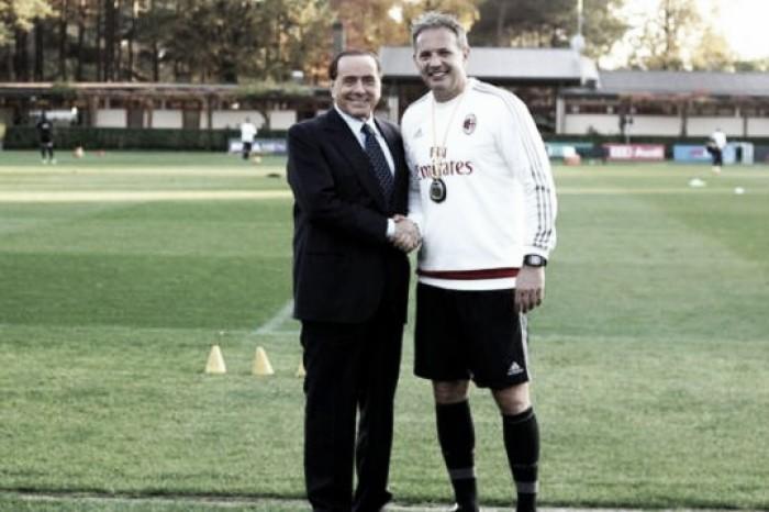 """Berlusconi: """"Puntiamo con forza alla Coppa Italia e al terzo posto in campionato"""""""
