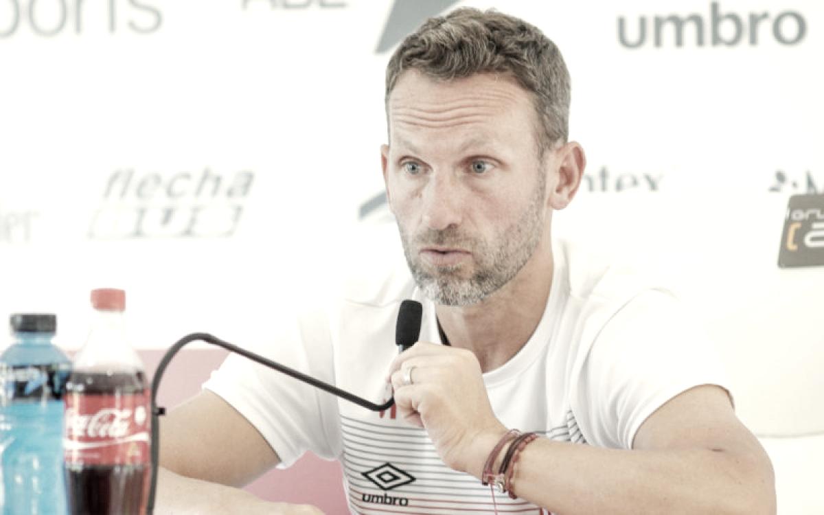 """Lucas Bernardi: """"Cuando llega alguien que no pertenece al club siempre es observado"""""""