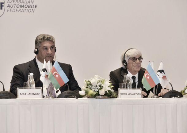 Bernie Ecclestone apresentou o circuito de Baku