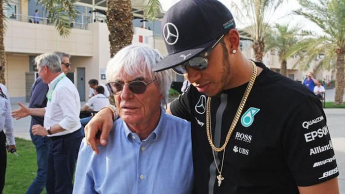 F1, Ecclestone teme lo strapotere di Hamilton nel 2017
