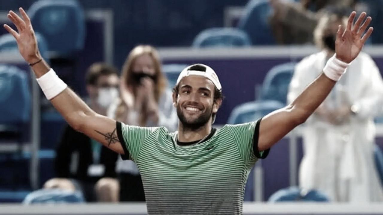 Berrettini gana a Karatsev y alza el título de Belgrado