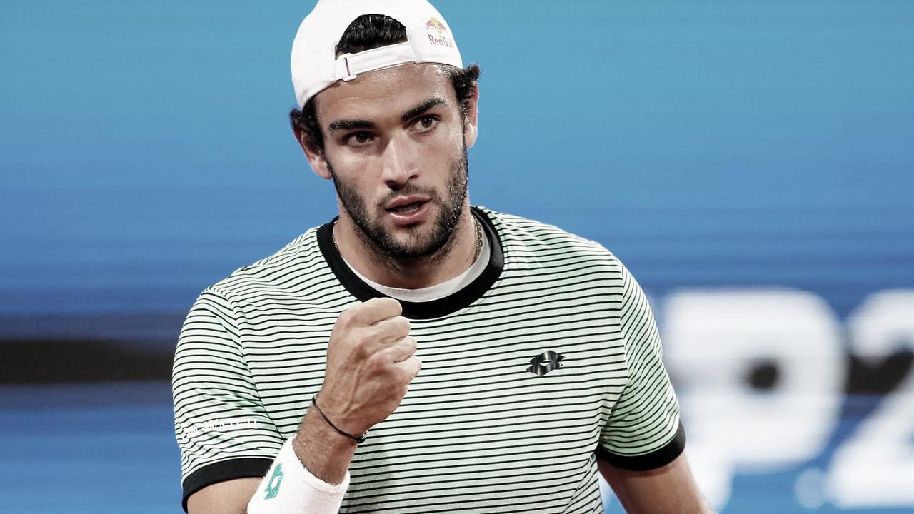 Com 'pneu' no terceiro set, Berrettini vence Daniel e vai à final do ATP 250 de Belgrado
