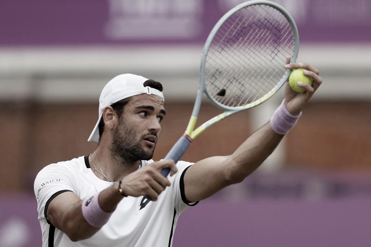 Em casa, Murray não resiste a Berrettini e cai nas oitavas do ATP 500 de Queen's