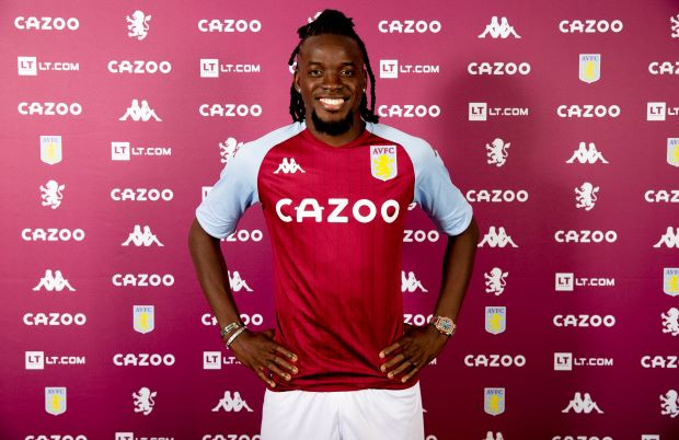 Aston Villa sign Bertrand Traore