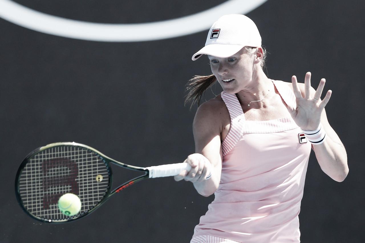 Bertens bate Riske com tranquilidade no Australian Open