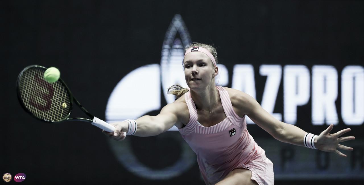 Bertens triunfa sobre Vekic e vence oitavo título da carreira em São Petersburgo