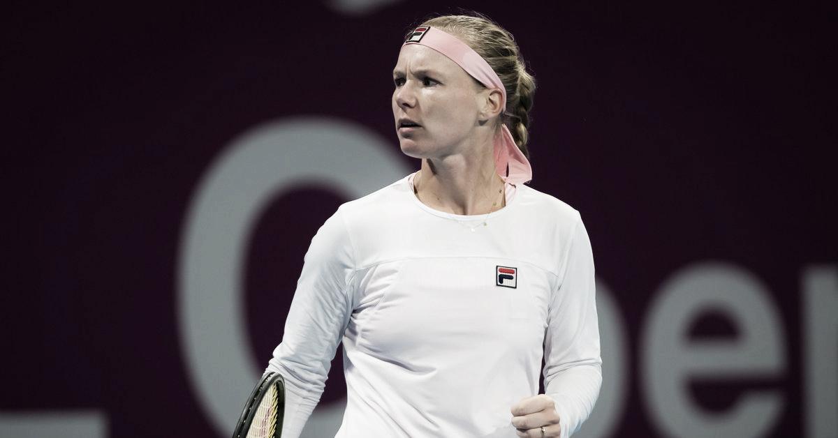 Bertens sai do buraco novamente e derrota ex-campeã Suárez Navarro em Doha