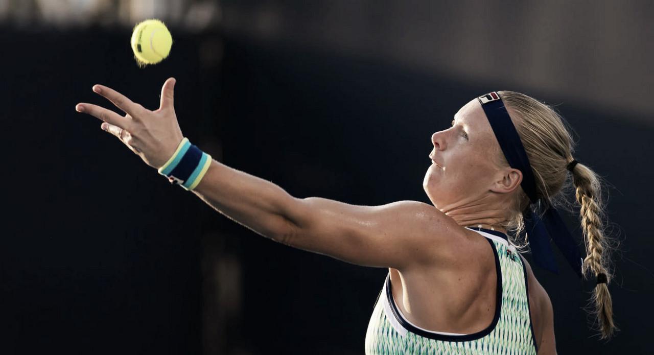 Bertens atropela Kuzmova após perder primeiro set e segue viva em Miami