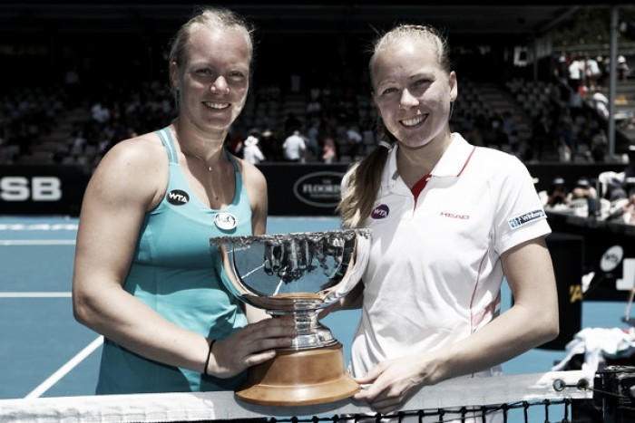 Kiki Bertens and Johanna Larsson takes the last spot at the WTA Finals
