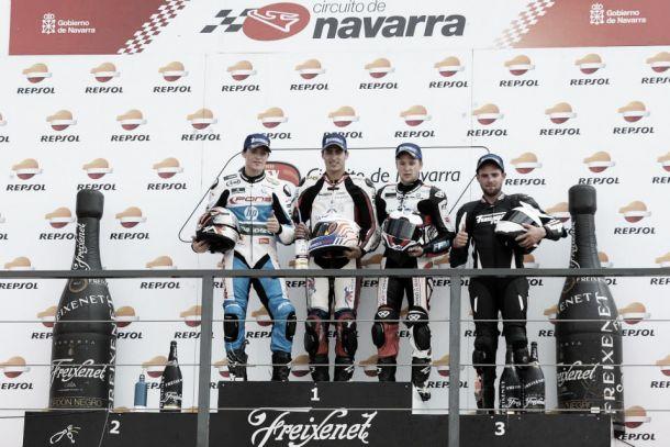 Thibaut se aleja en Superstock 600 y Esteban y Kuparinen se acercan a García en Superbikes privados