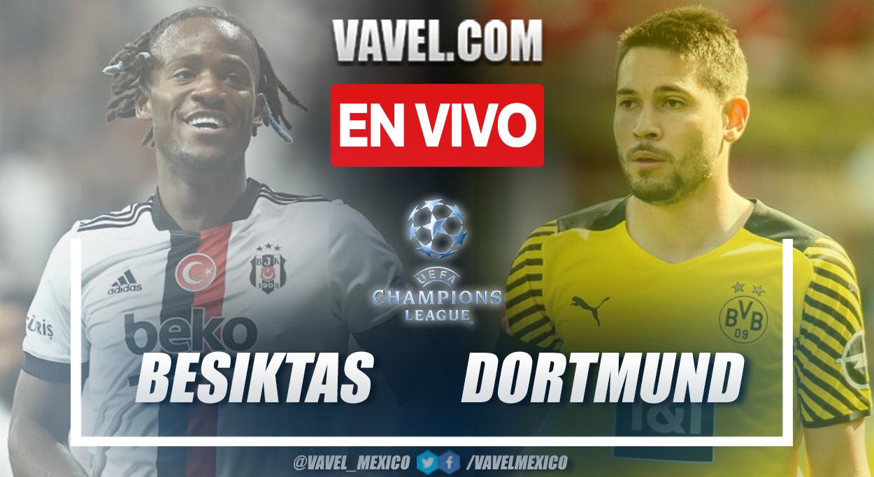 Resumen y goles: Besiktas 1-2 Borussia Dortmund en la fecha 1 por Champions League 2021-22