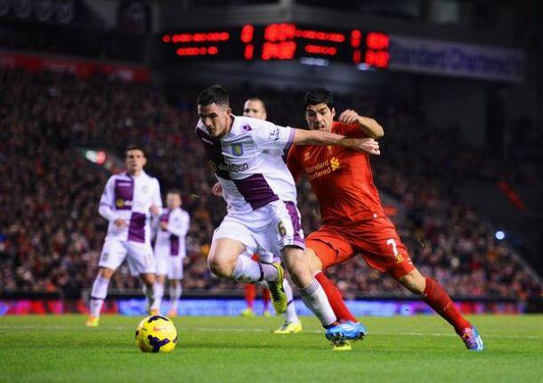 Risultato Liverpool 2-2 Aston Villa in Premier League 2014