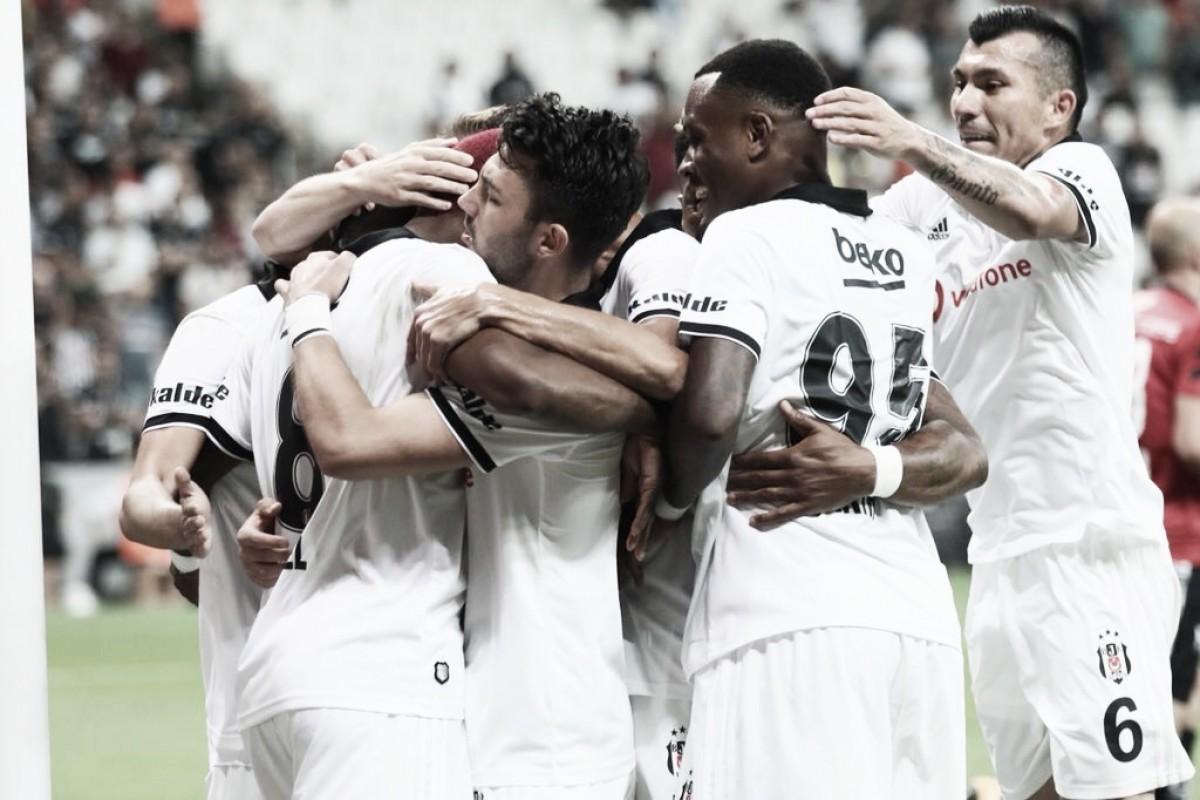Com gol de Babel, Besiktas vence LASK Linz e fica perto de avançar na Europa League