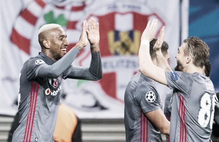 Besiktas derrota Leipzig e é primeira equipe turca a vencer grupo na Champions League