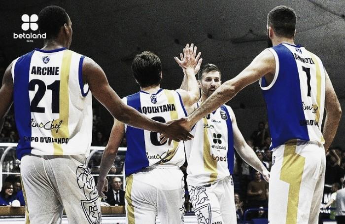Legabasket Serie A: è super Orlandina anche in trasferta, gran rimonta a Cremona!