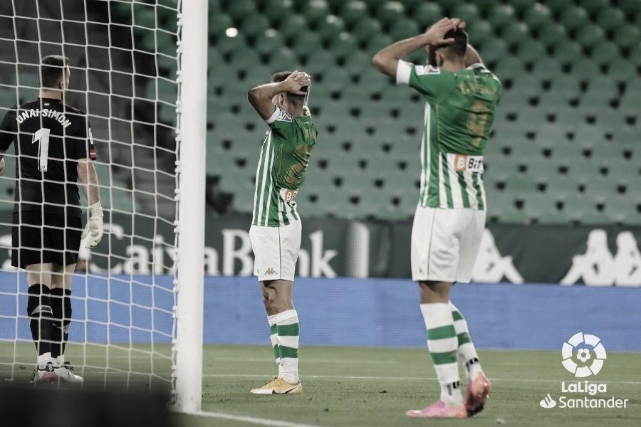 Betis y Athletic se aferran a las tablas (0-0)