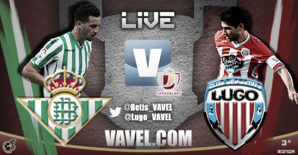 Betis - Lugo en directo online