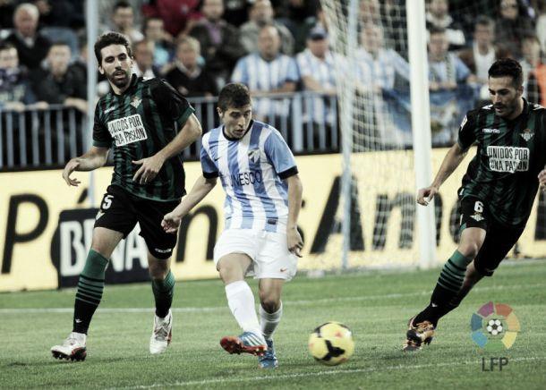 El Málaga-Betis de la jornada 11 ya tiene horario