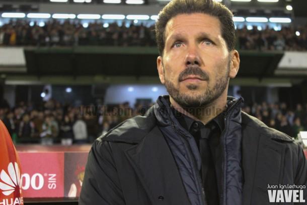 """Simeone: """"Queremos mantener el nivel futbolístico, que fue bueno"""""""