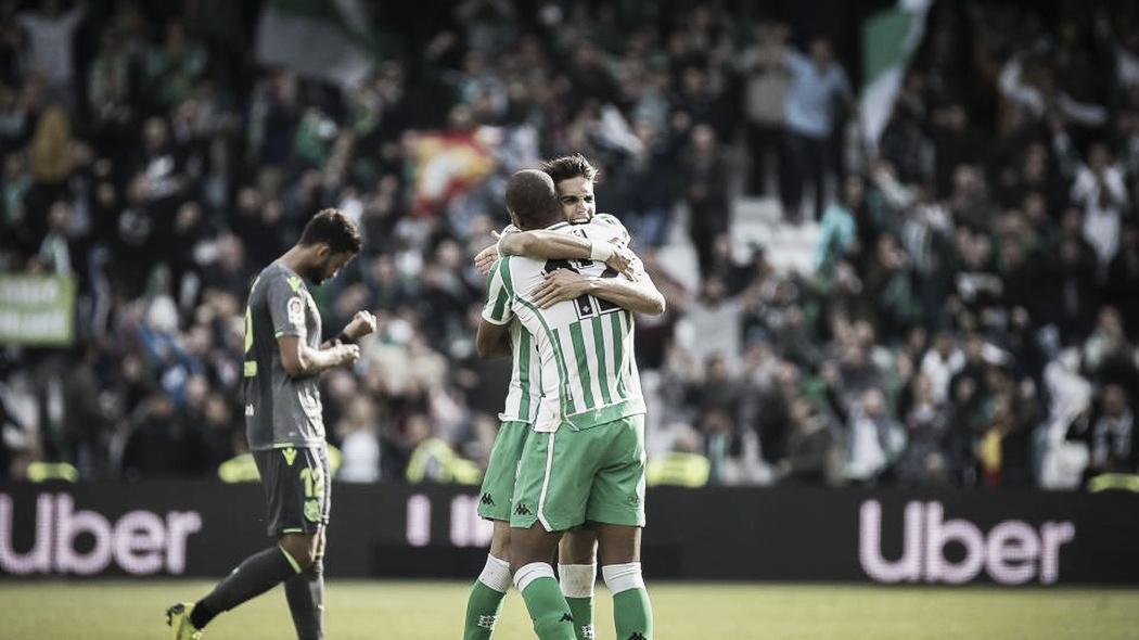 Betis domina e vence Real Sociedad pelo Campeonato Espanhol