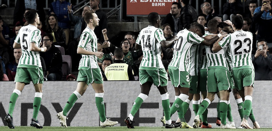 Betis goleia Racing e se classifica na Copa do Rei com tranquilidade