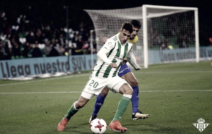 Puntuaciones Real Betis - Cádiz
