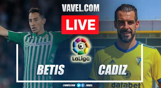Goals and Highlights: Betis 1-1 Cadiz in La Liga 2021