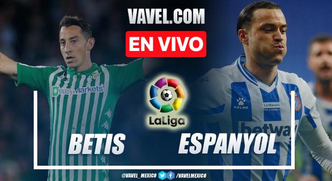 Goles y resumen del Betis 2-2 Espanyol en LaLiga 2021