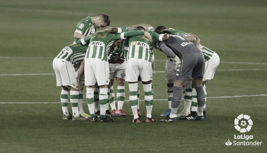 Real Betis - Getafe, puntuaciones del Real Betis 24ª jornada de LaLiga Santander