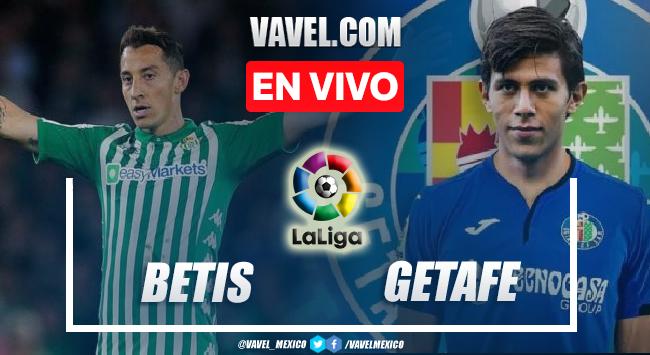 Goles y resumen del Real Betis 2-0 Getafe en LaLiga 2021