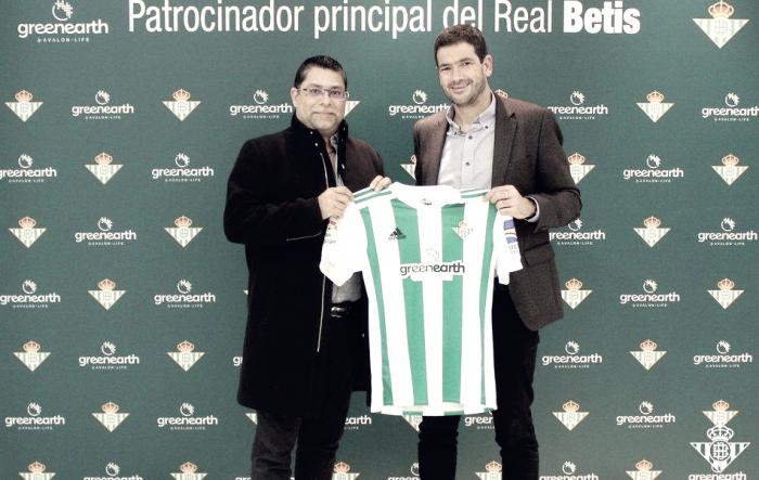 Green Earth, nuevo patrocinador principal del Betis