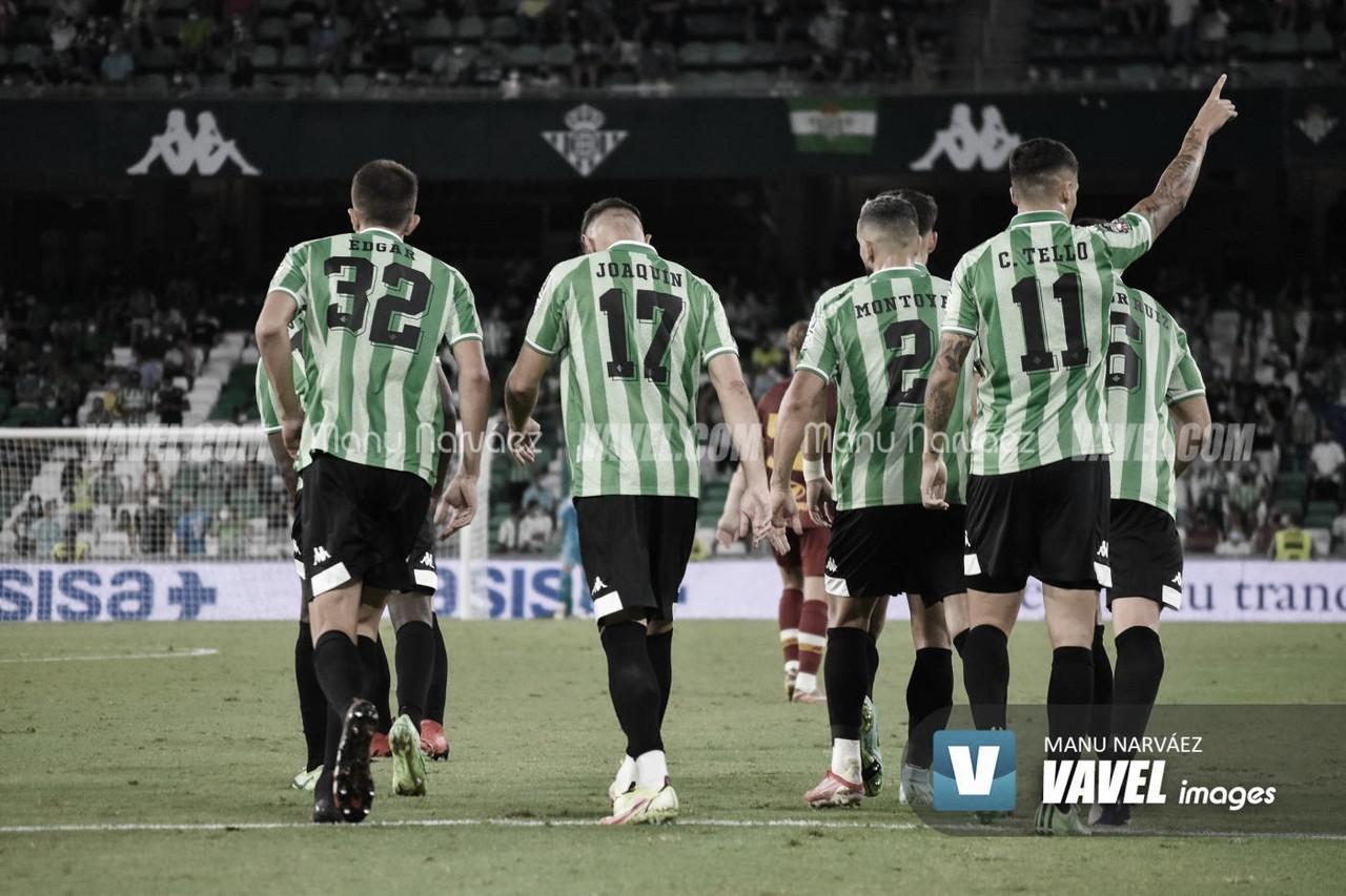 El Betis se pone serio y golea a la AS Roma en su último ensayo antes del inicio liguero