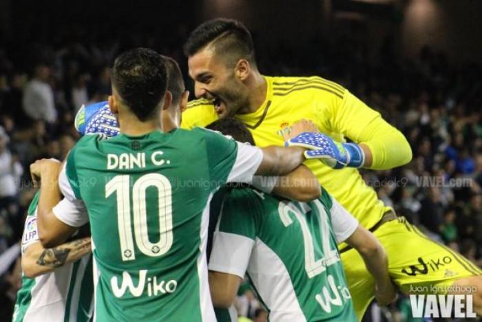 Real Betis - Levante: puntuaciones Real Betis, jornada 32