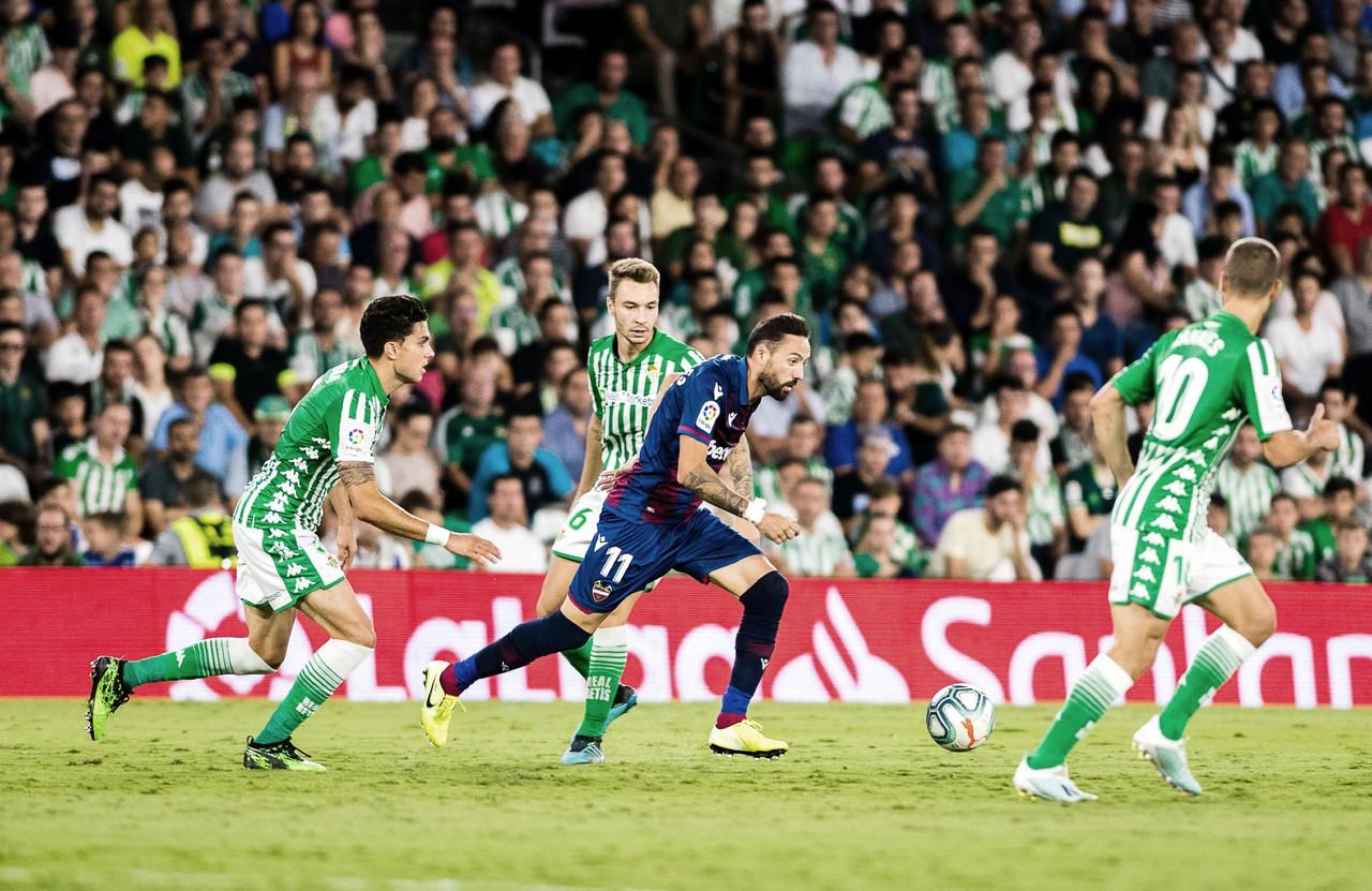 Previa Real Betis vs Levante UD: Europa como objetivo