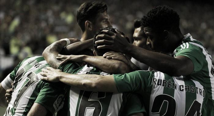 Joaquín regala al Villamarín la primera victoria