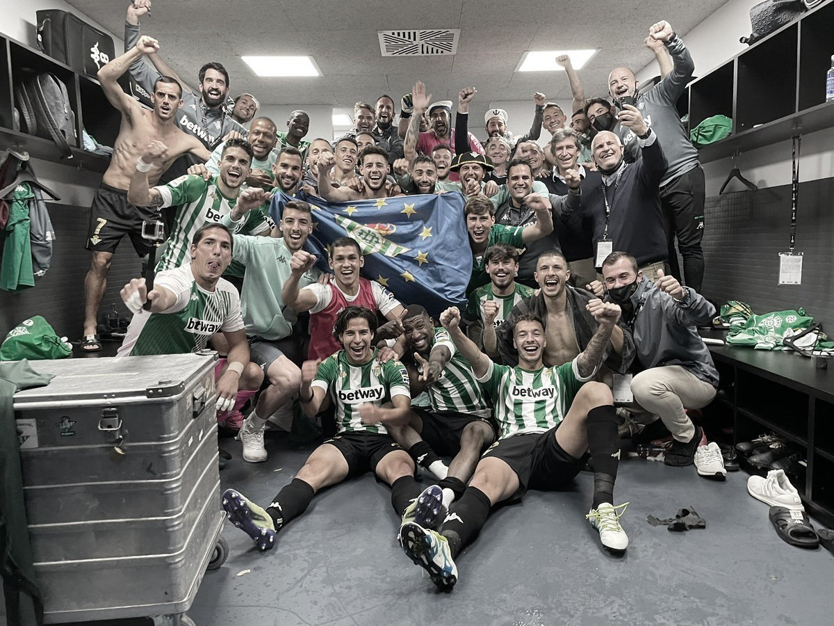 Com um a menos, Betis vira sobre Celta e garante vaga na Europa League