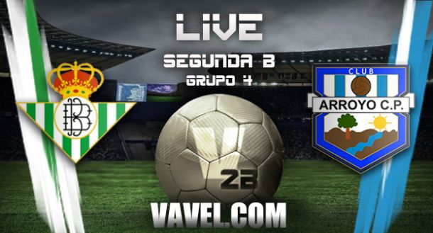 Real Betis B - Arroyo CP en directo online