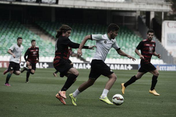 El Betis golea al Gerena en el partidillo de entrenamiento