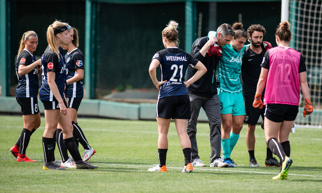 Reign FC's Michelle Betos out for the season