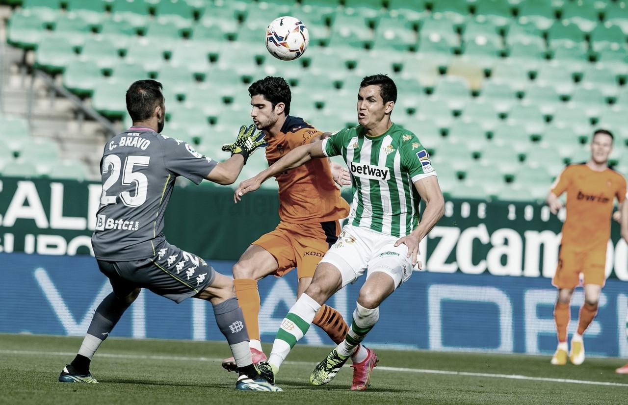 Betis e Valencia ficam no empate pelo Campeonato Espanhol