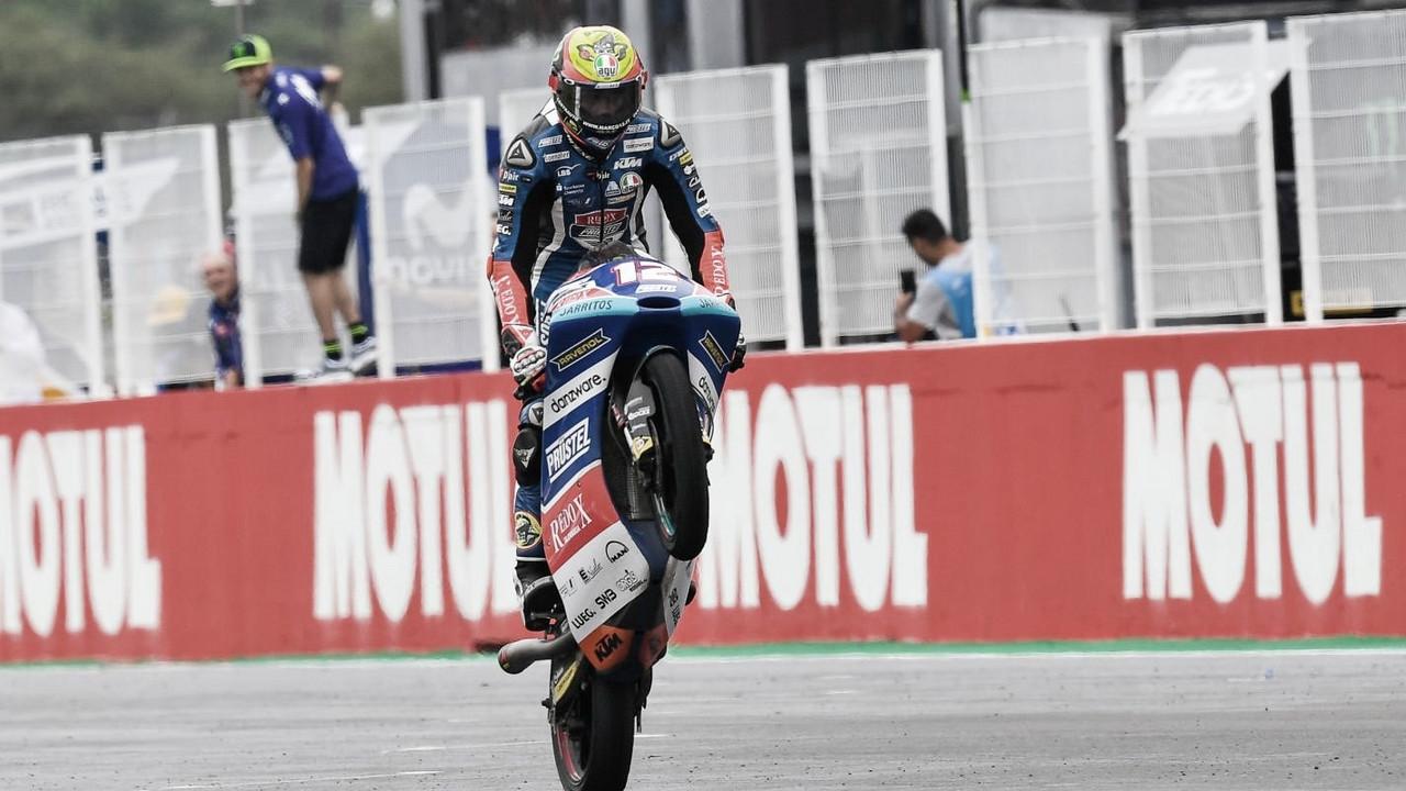 """Marco Bezzechi, """"Me gustaría estar en MotoGP"""""""