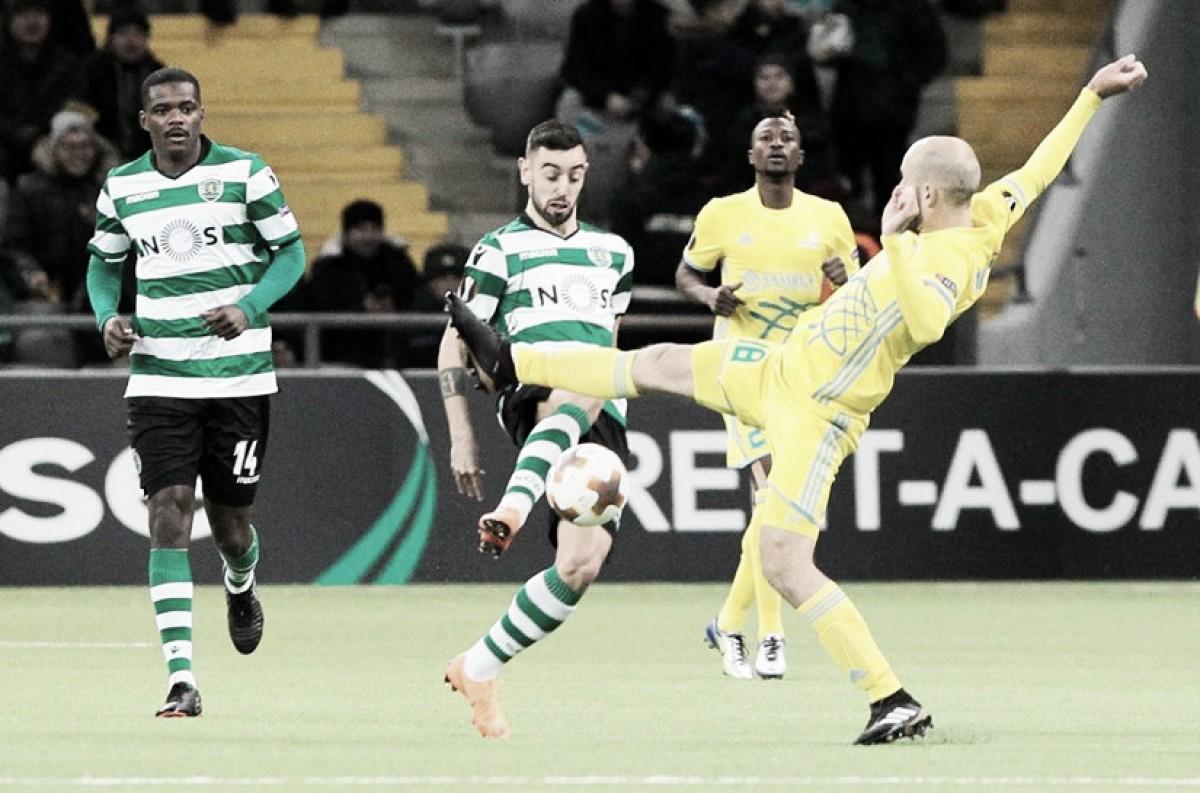 Sporting enfrenta Plzen nas oitavas de final da Liga Europa