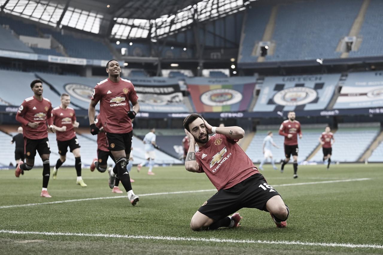 United vence Manchester Derby e acaba com sequência de vitórias do City
