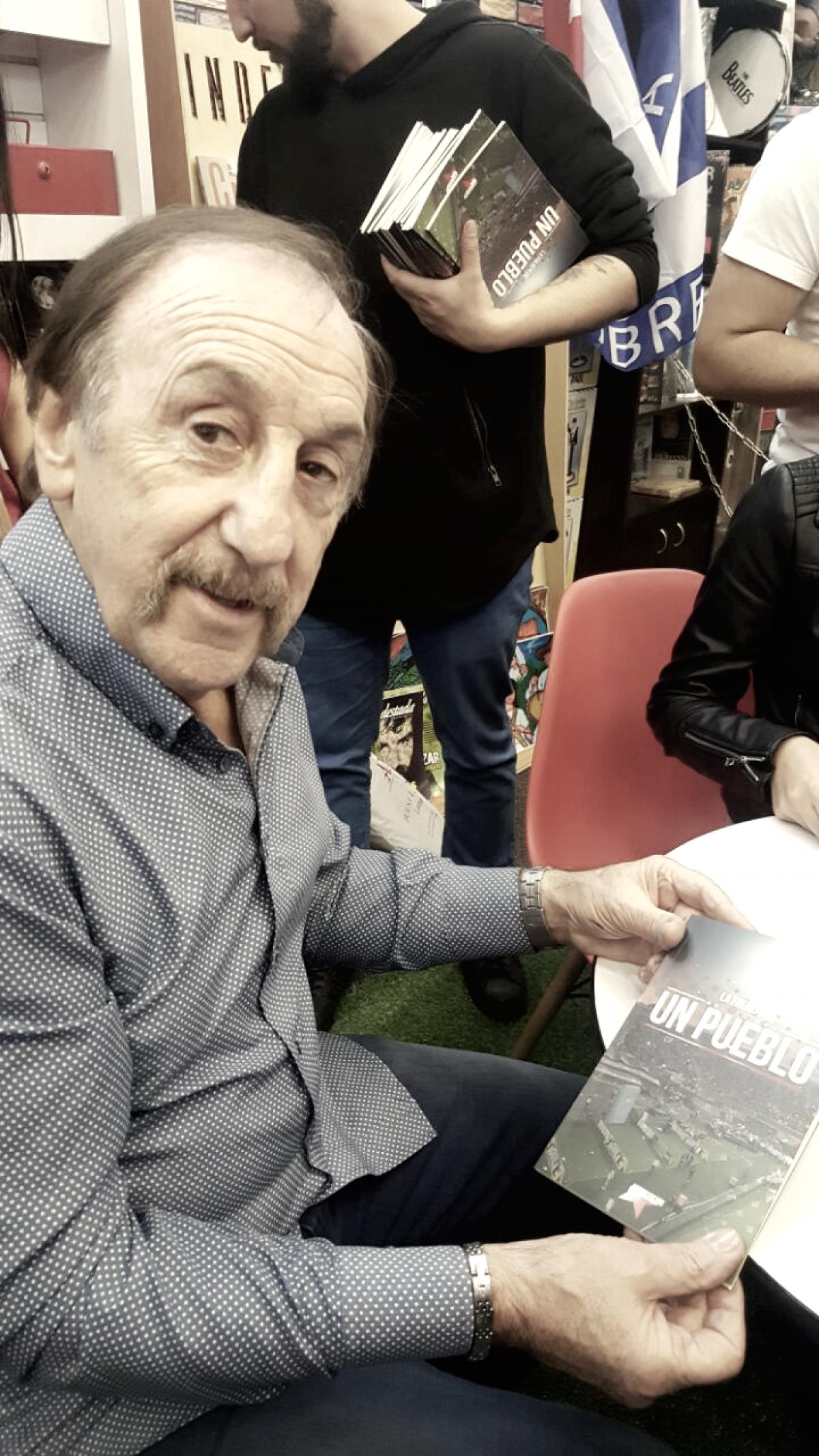 """Carlos Pandolfi: """"Cuando me llamaron para que escribiera el prólogo del libro, dije no tengo experiencia"""""""