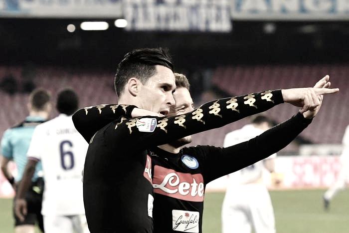 Coppa Italia - Il Napoli elimina la Fiorentina: al San Paolo decide Callejon