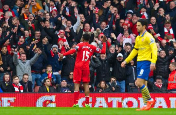 ResultatoLiverpool 5-1 Arsenal in Premier League 2014